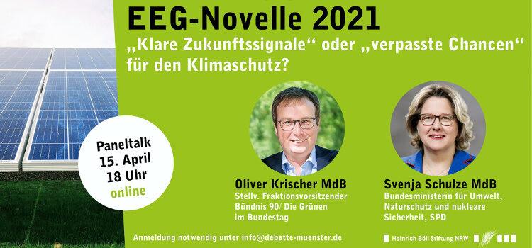 EEG-Novelle 2021, Kohleausstieg, Pariser Klimaabkommen – Klare Zukunftssignale oder verpasste Chancen für den Klimaschutz?